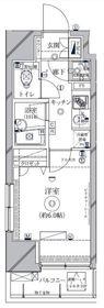 クレイシア新横浜5階Fの間取り画像