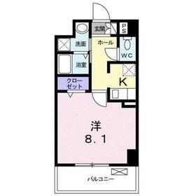 さがみ野駅 徒歩9分4階Fの間取り画像