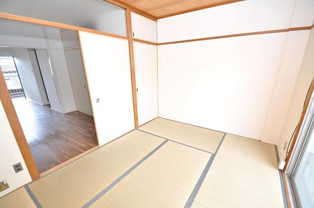 グリーンハイツ竜田 解放感があるオシャレなお部屋です。