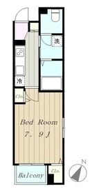 ルピナス34階Fの間取り画像