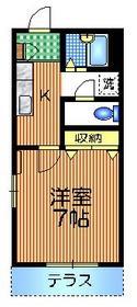 メゾン20001階Fの間取り画像
