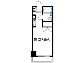 ユーコート本厚木6階Fの間取り画像