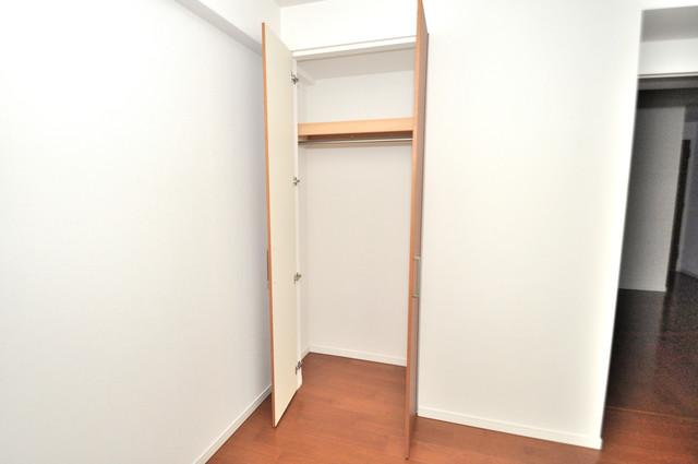 ヴェリテ永和駅前 各所に収納があるので、お部屋がすっきり片付きますね。