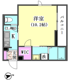仲六郷2丁目シャーメゾン 201号室
