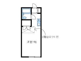スペース松蓮寺2階Fの間取り画像