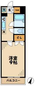 鶴牧ガーデンズ3階Fの間取り画像