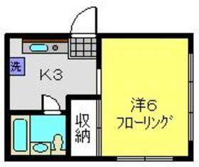 YTハイム1階Fの間取り画像