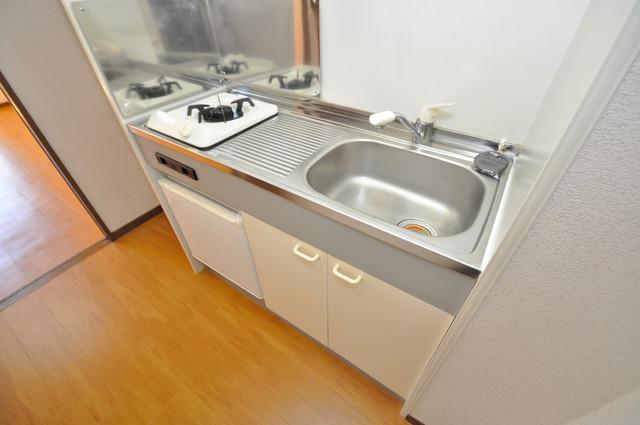 プリムローズHY1 ピカピカのキッチンはお料理の時間が楽しくなりますね。