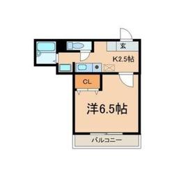 JMマンション2階Fの間取り画像