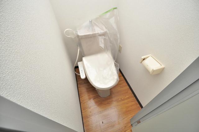 清洲プラザ高井田 清潔感たっぷりのトイレです。入るとホッとする、そんな空間。