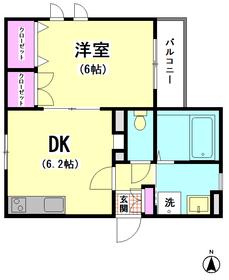 メゾン タテオト 201号室