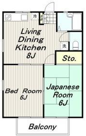 SHINOZAKI シノザキ1階Fの間取り画像