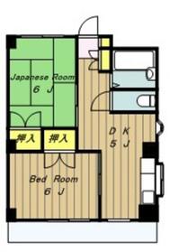 HSマンション2階Fの間取り画像