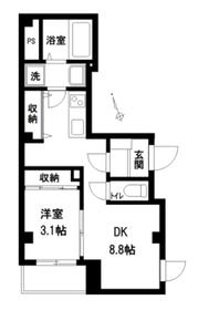 AGORA1階Fの間取り画像