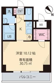 メゾン・アルエ4階Fの間取り画像