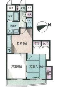 ホーユウリレント弘明寺第二4階Fの間取り画像