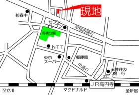 スカイコート高円寺案内図