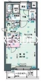 新日本橋駅 徒歩4分3階Fの間取り画像