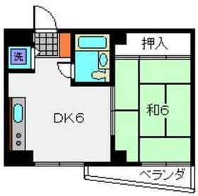 ドミトリーゴコー3階Fの間取り画像