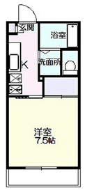 プティ・ピエヌ2階Fの間取り画像