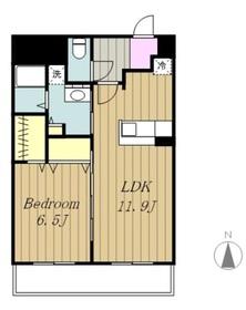 アネーロ・ネオ4階Fの間取り画像