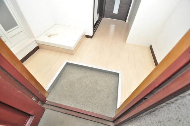 レジデンスやまびこ 素敵な玄関は毎朝あなたを元気に送りだしてくれますよ。