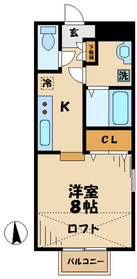 伊勢原駅 徒歩17分1階Fの間取り画像