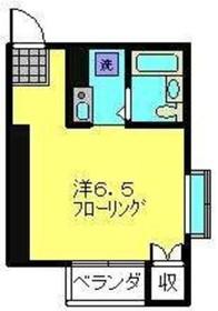 ハイツBUNMEI3階Fの間取り画像