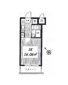 クリオ妙蓮寺参番館1階Fの間取り画像