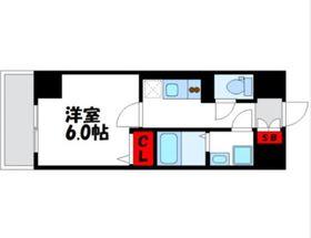 グランヴァン横濱クレストシティ4階Fの間取り画像
