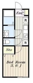 グランシャトー高幡不動2階Fの間取り画像