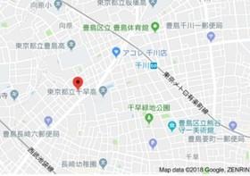 小竹向原駅 徒歩10分案内図