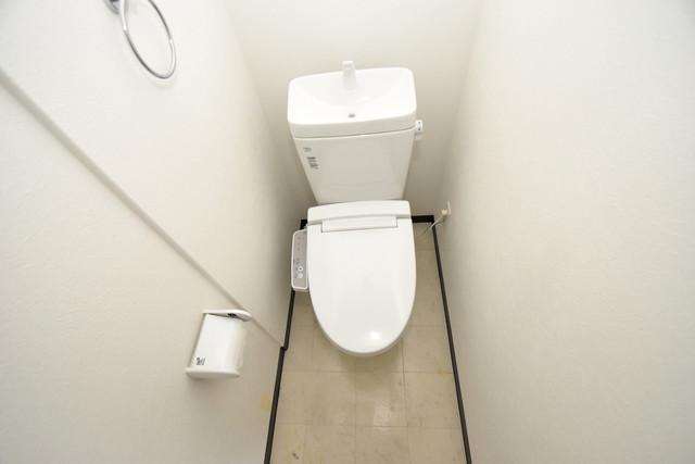 U-ro北巽 清潔感たっぷりのトイレです。入るとホッとする、そんな空間。