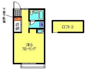 TMナカオ2階Fの間取り画像