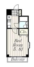 ライオンズマンション本厚木第32階Fの間取り画像