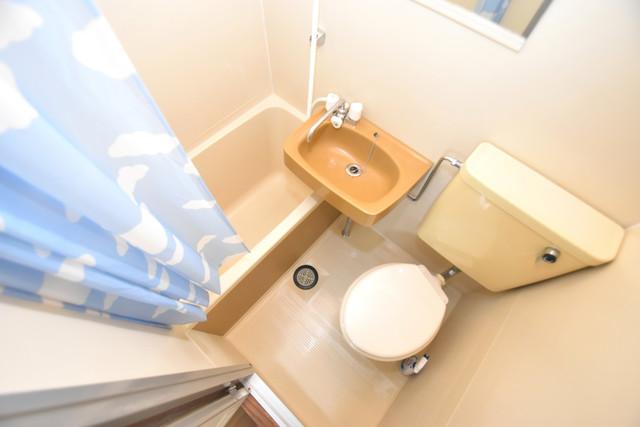 リバーサイドハイツ21 シャワー1本で水回りが簡単に掃除できますね。
