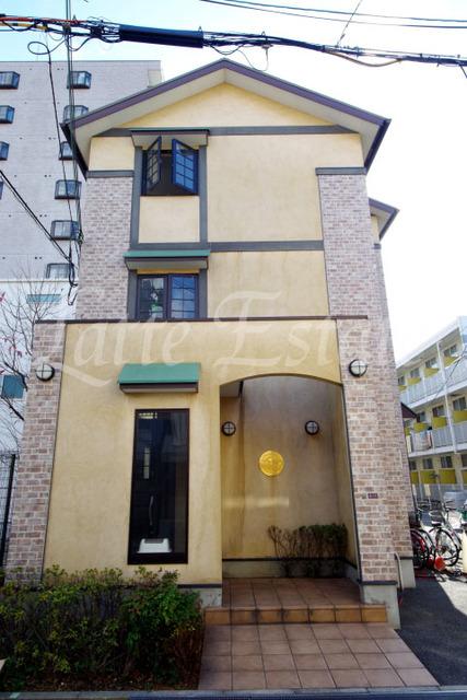 大阪市鶴見区今津南1丁目の賃貸アパートの外観