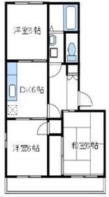 フォーユー桜台参番館2階Fの間取り画像