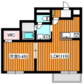 西高島平駅 徒歩24分2階Fの間取り画像