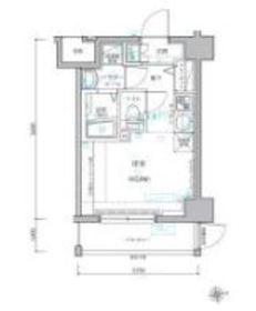 レグラス横濱保土ヶ谷6階Fの間取り画像