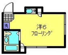 KYハイツ2階Fの間取り画像