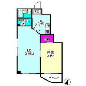 ドエル雪谷 302号室