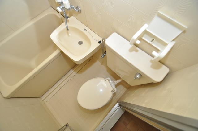 メゾンSK 清潔感のある爽やかなトイレ。誰もがリラックスできる空間です。