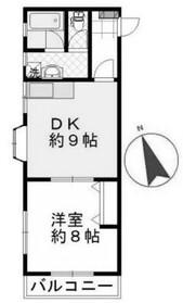 メゾン溝の口3階Fの間取り画像