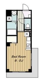 喜久屋ビル4階Fの間取り画像