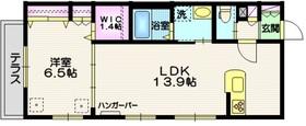 グラニットコート東玉川1階Fの間取り画像