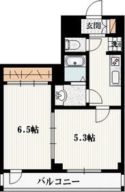 サニーコート291階Fの間取り画像