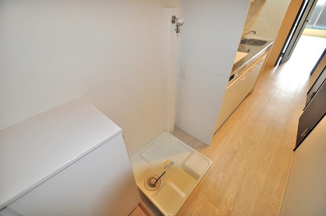 セントロイエルSeifu 嬉しい室内洗濯機置場。これで洗濯機も長持ちしますね。