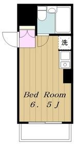 第3ISマンション2階Fの間取り画像