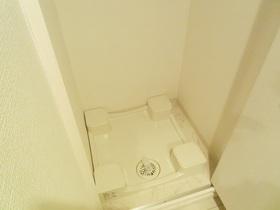 洗濯機は玄関横に置けます!